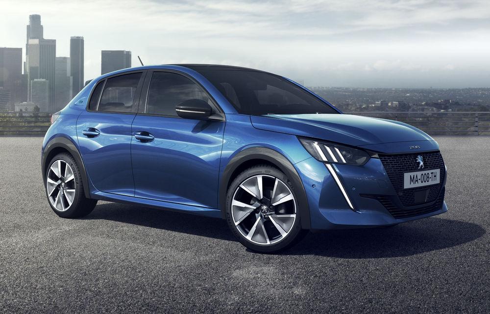 Peugeot speră ca versiunea electrică a lui 208 să reprezinte 15% din vânzările noului model: variantă de închiriere cu rată lunară de 300 euro pe 4 ani și avans de 2.400 de euro - Poza 1