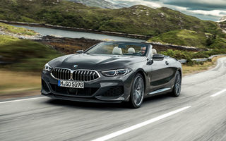 Îmbunătățiri în gama BMW: versiuni noi pentru Seria 3, Seria 5 în varianta M550i primește motorul V8 de 530 CP, iar Seria 8 are o nouă variantă de bază