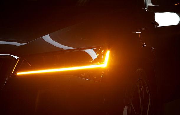 Premieră pentru Skoda Superb facelift: va avea versiune Scout cu tracțiune integrală în echiparea standard: lansare pe 23 mai - Poza 2