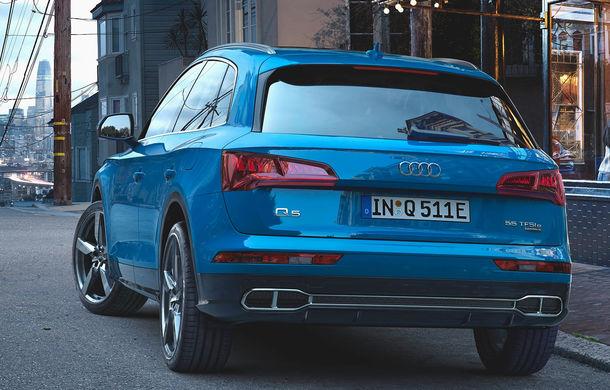 Audi Q5 primește o nouă versiune plug-in hybrid: varianta Q5 55 TFSI e quattro oferă 367 CP și o autonomie în modul electric de peste 40 de kilometri - Poza 4