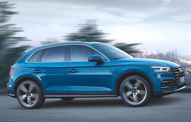Audi Q5 primește o nouă versiune plug-in hybrid: varianta Q5 55 TFSI e quattro oferă 367 CP și o autonomie în modul electric de peste 40 de kilometri - Poza 2