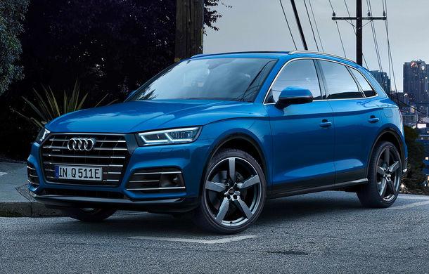 Audi Q5 primește o nouă versiune plug-in hybrid: varianta Q5 55 TFSI e quattro oferă 367 CP și o autonomie în modul electric de peste 40 de kilometri - Poza 1