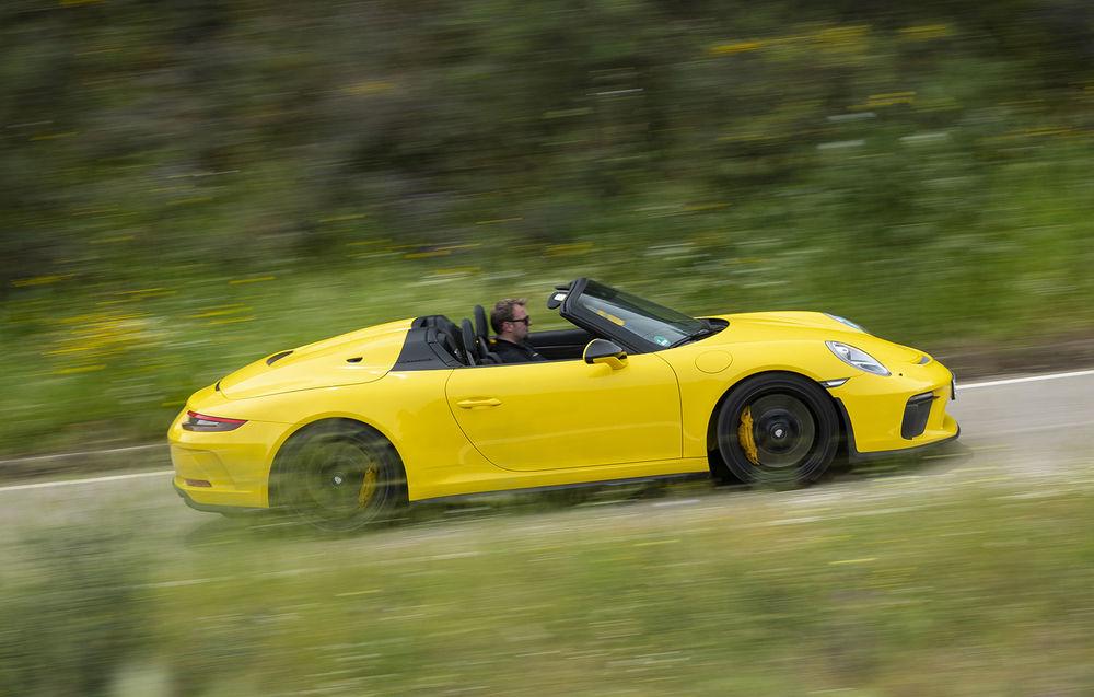 Test drive Porsche 911 Speedster