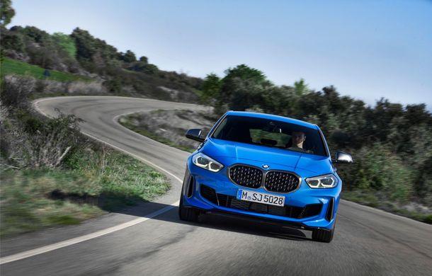 Noua generație BMW Seria 1, imagini și detalii oficiale: platformă nouă cu roți motrice față, mai mult spațiu pentru pasageri și tehnologii moderne - Poza 7
