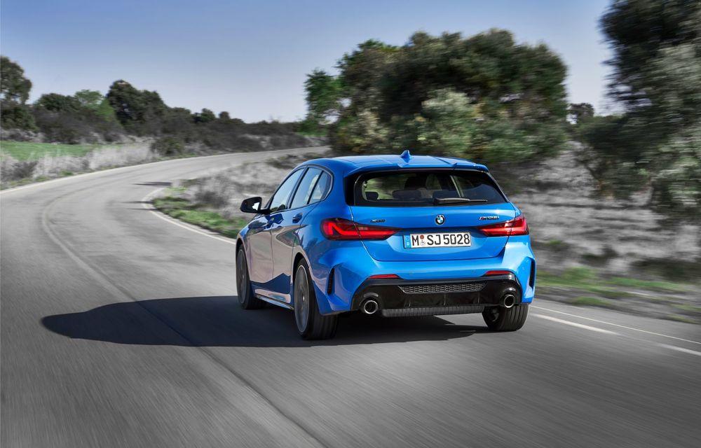 Noua generație BMW Seria 1, imagini și detalii oficiale: platformă nouă cu roți motrice față, mai mult spațiu pentru pasageri și tehnologii moderne - Poza 20