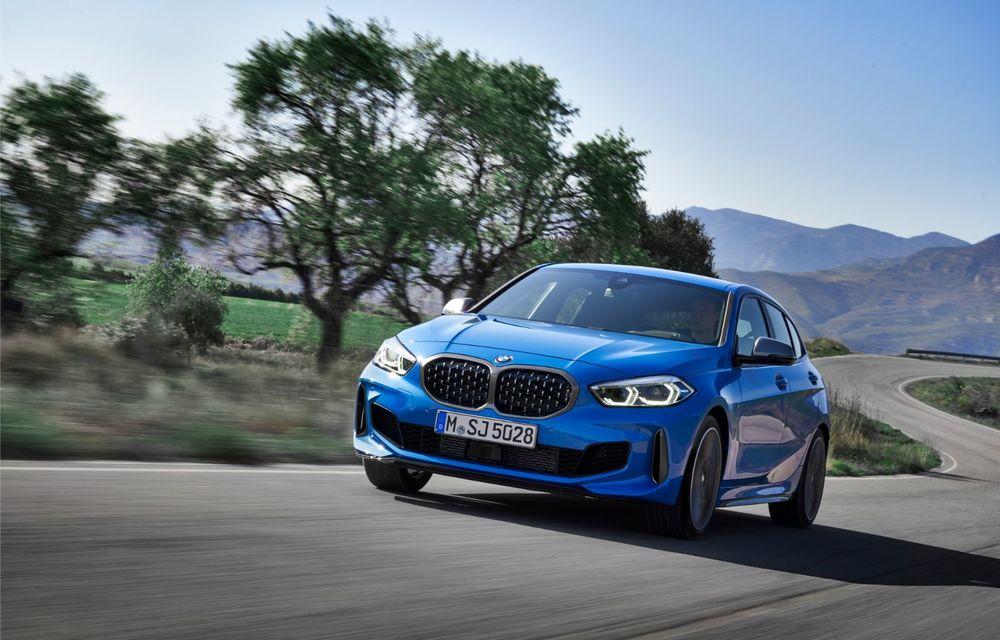 Noua generație BMW Seria 1, imagini și detalii oficiale: platformă nouă cu roți motrice față, mai mult spațiu pentru pasageri și tehnologii moderne - Poza 4