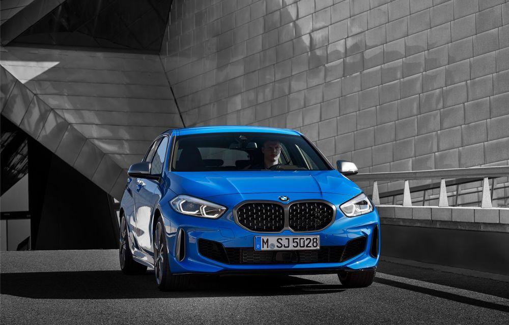 Noua generație BMW Seria 1, imagini și detalii oficiale: platformă nouă cu roți motrice față, mai mult spațiu pentru pasageri și tehnologii moderne - Poza 9