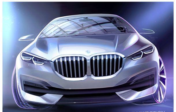 Noua generație BMW Seria 1, imagini și detalii oficiale: platformă nouă cu roți motrice față, mai mult spațiu pentru pasageri și tehnologii moderne - Poza 118