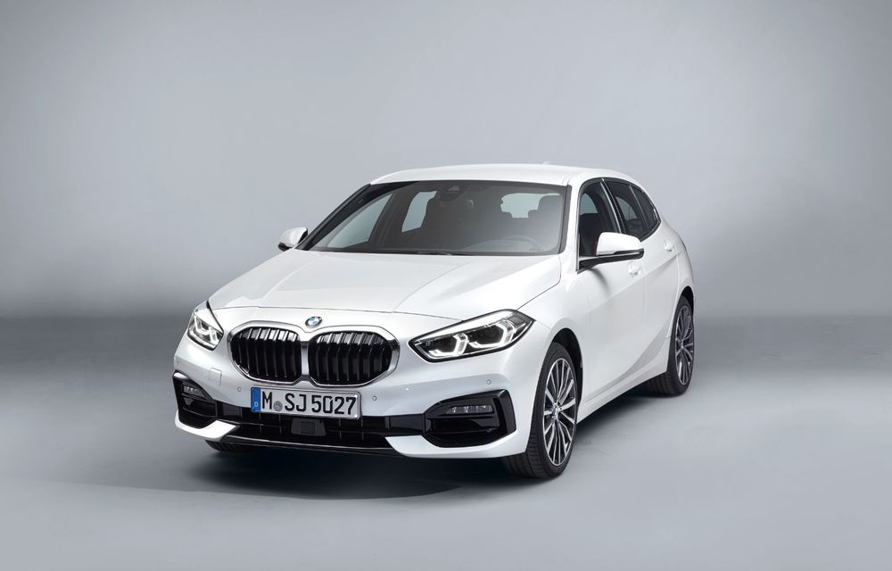 Noua generație BMW Seria 1, imagini și detalii oficiale: platformă nouă cu roți motrice față, mai mult spațiu pentru pasageri și tehnologii moderne - Poza 48