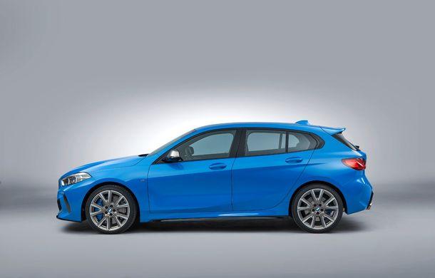 Noua generație BMW Seria 1, imagini și detalii oficiale: platformă nouă cu roți motrice față, mai mult spațiu pentru pasageri și tehnologii moderne - Poza 23