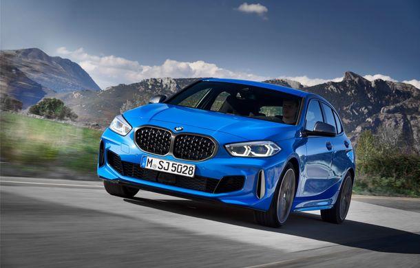 Noua generație BMW Seria 1, imagini și detalii oficiale: platformă nouă cu roți motrice față, mai mult spațiu pentru pasageri și tehnologii moderne - Poza 10