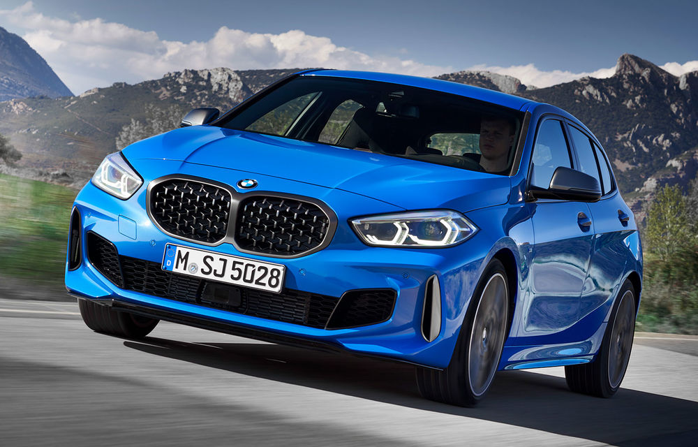 Noua generație BMW Seria 1, imagini și detalii oficiale: platformă nouă cu roți motrice față, mai mult spațiu pentru pasageri și tehnologii moderne - Poza 1