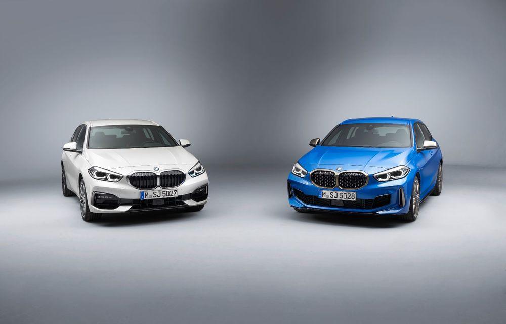 Noua generație BMW Seria 1, imagini și detalii oficiale: platformă nouă cu roți motrice față, mai mult spațiu pentru pasageri și tehnologii moderne - Poza 58