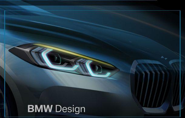 Noua generație BMW Seria 1, imagini și detalii oficiale: platformă nouă cu roți motrice față, mai mult spațiu pentru pasageri și tehnologii moderne - Poza 123