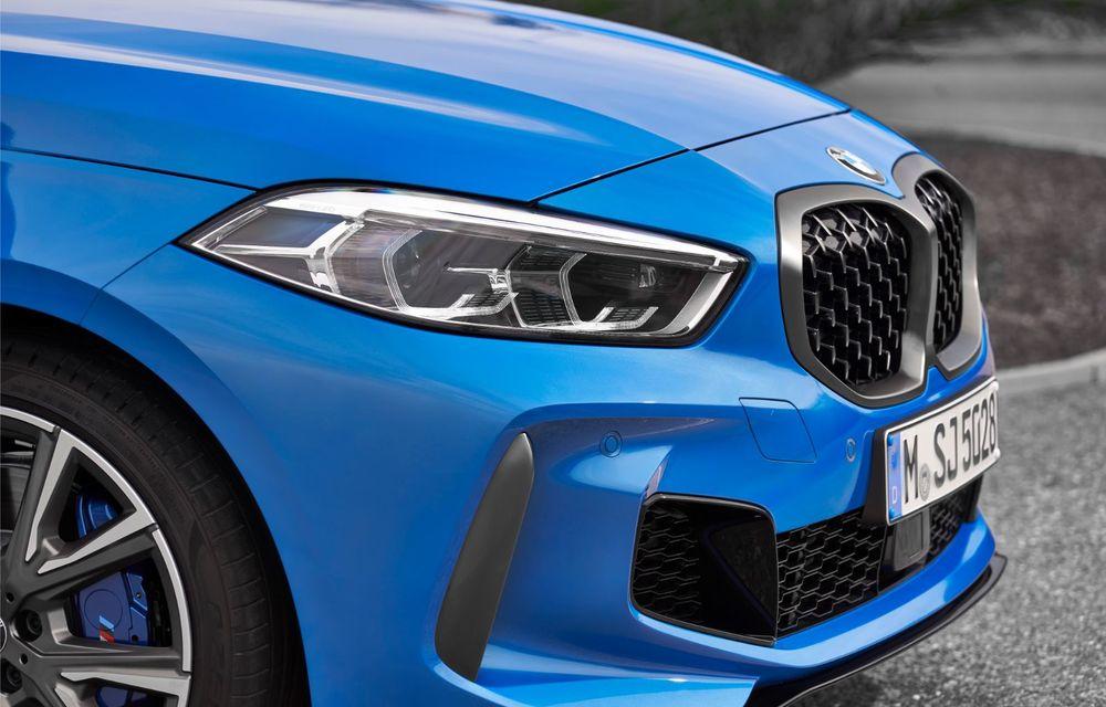 Noua generație BMW Seria 1, imagini și detalii oficiale: platformă nouă cu roți motrice față, mai mult spațiu pentru pasageri și tehnologii moderne - Poza 66