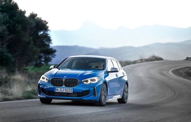 Noua generație BMW Seria 1, imagini și detalii oficiale: platformă nouă cu roți motrice față, mai mult spațiu pentru pasageri și tehnologii moderne - Poza 5
