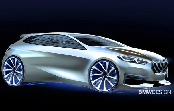 Noua generație BMW Seria 1, imagini și detalii oficiale: platformă nouă cu roți motrice față, mai mult spațiu pentru pasageri și tehnologii moderne - Poza 124