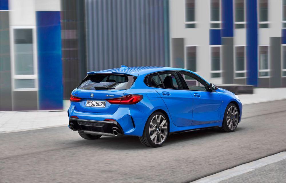 Noua generație BMW Seria 1, imagini și detalii oficiale: platformă nouă cu roți motrice față, mai mult spațiu pentru pasageri și tehnologii moderne - Poza 12