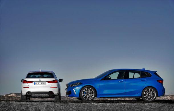 Noua generație BMW Seria 1, imagini și detalii oficiale: platformă nouă cu roți motrice față, mai mult spațiu pentru pasageri și tehnologii moderne - Poza 56