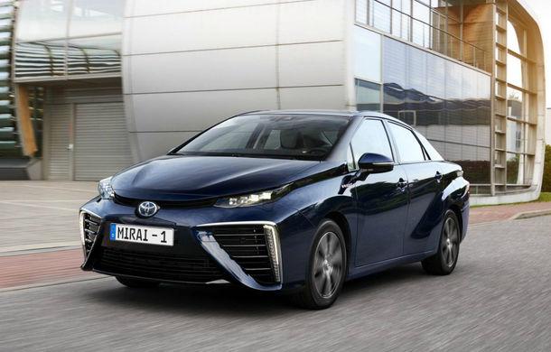 """Toyota crede în """"potențialul uriaș"""" al mașinilor alimentate cu hidrogen: """"Vor avea același preț ca hibrizii în cel mult 10 ani"""" - Poza 1"""