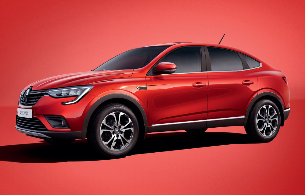 Primele imagini cu versiunea de serie Renault Arkana: SUV-ul coupe se lansează în Rusia înainte de extinderea globală - Poza 1