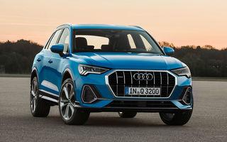 Audi anunță noutăți majore în gamă: Q3 Sportback și alte 6 SUV-uri vor fi lansate în 2019, A8 ar putea avea versiune electrică, iar TT și R8 vor fi eliminate