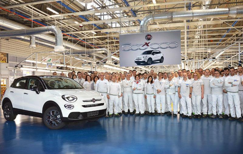 Sărbătoare la Fiat: modelul 500X a atins o producție de 500.000 de exemplare - Poza 1
