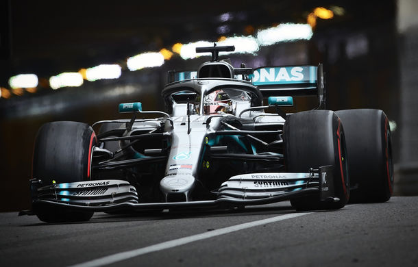 Hamilton, pole position la Monaco în fața lui Bottas! Leclerc, doar locul 16 pentru Ferrari - Poza 1