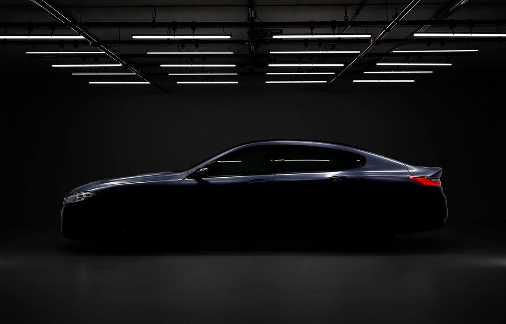 Primul teaser video pentru BMW Seria 8 Gran Coupe: modelul producătorului german debutează în această vară - Poza 1