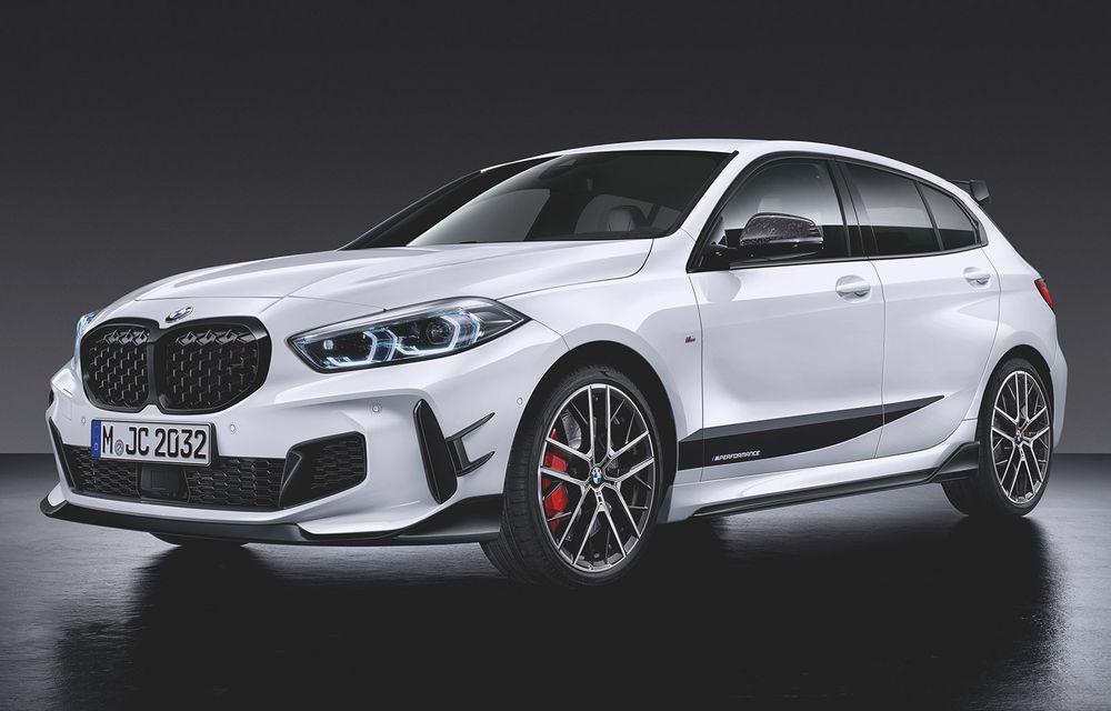 Accesorii M Performance pentru noua generație BMW Seria 1: elemente de caroserie și accesorii de interior derivate din cele utilizate în motorsport - Poza 1