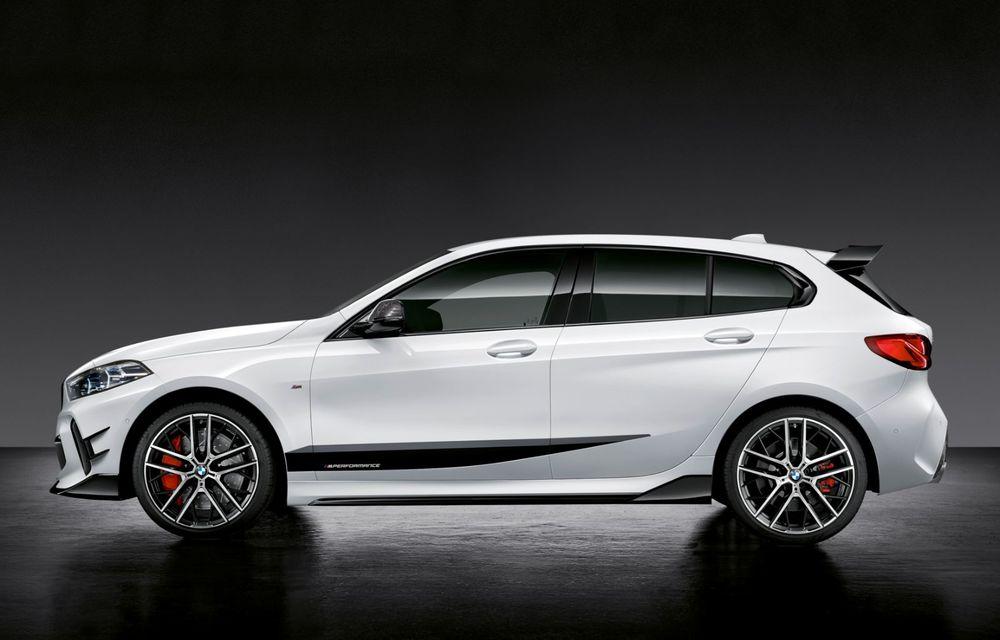 Accesorii M Performance pentru noua generație BMW Seria 1: elemente de caroserie și accesorii de interior derivate din cele utilizate în motorsport - Poza 3