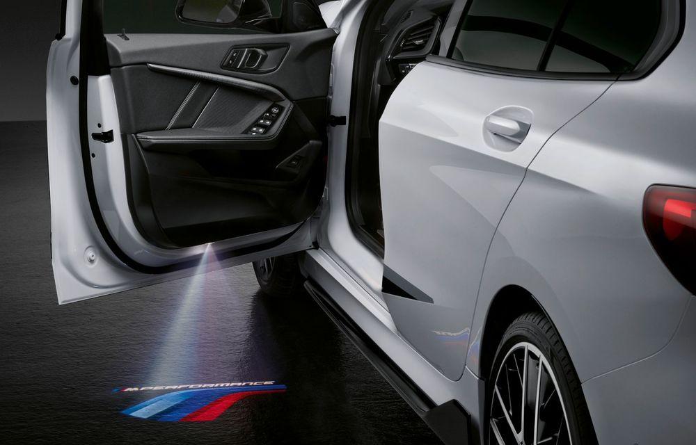 Accesorii M Performance pentru noua generație BMW Seria 1: elemente de caroserie și accesorii de interior derivate din cele utilizate în motorsport - Poza 13
