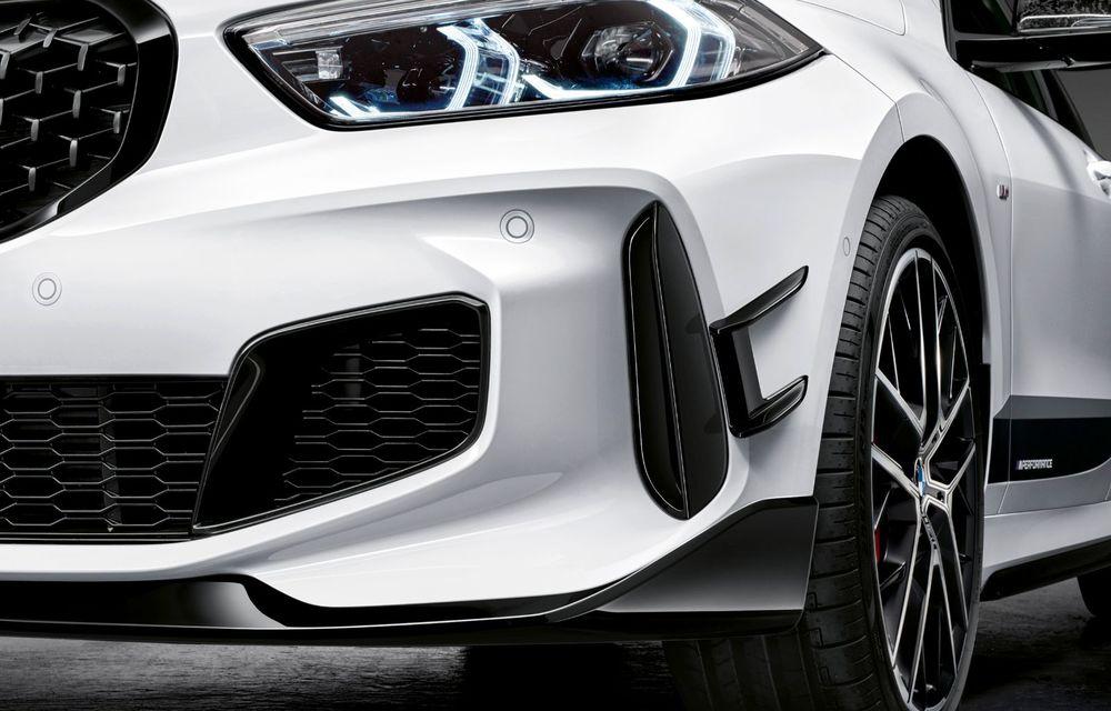 Accesorii M Performance pentru noua generație BMW Seria 1: elemente de caroserie și accesorii de interior derivate din cele utilizate în motorsport - Poza 8