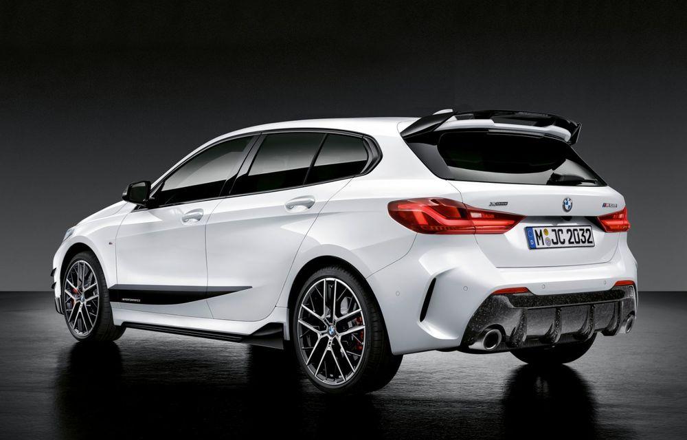 Accesorii M Performance pentru noua generație BMW Seria 1: elemente de caroserie și accesorii de interior derivate din cele utilizate în motorsport - Poza 2