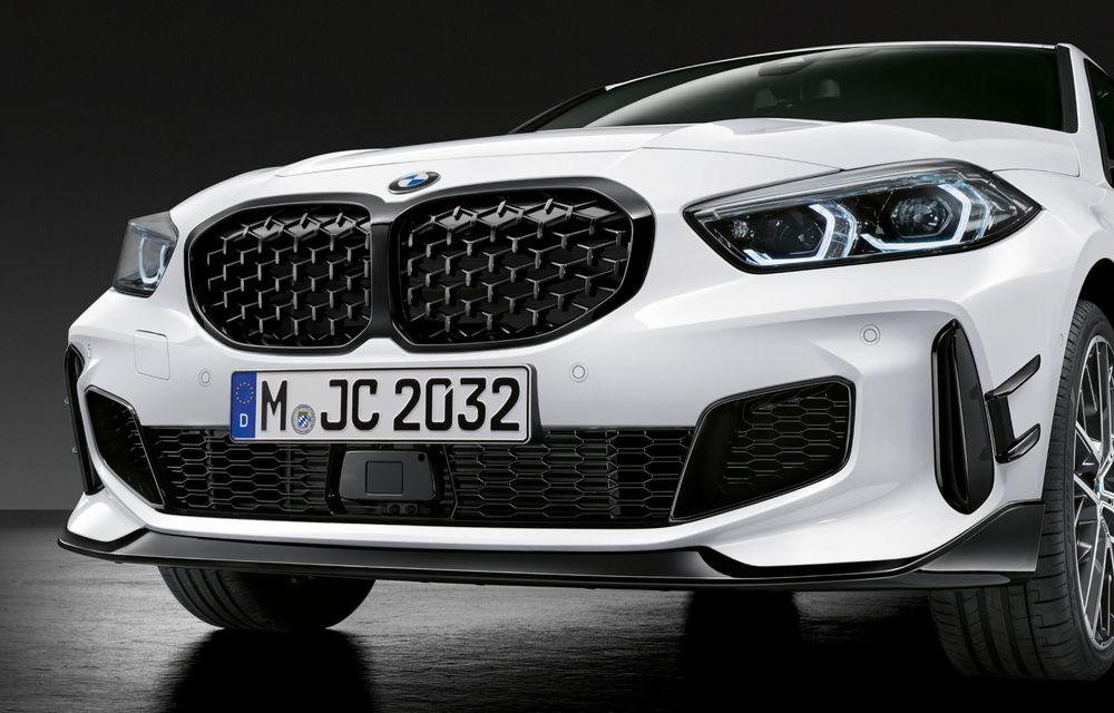Accesorii M Performance pentru noua generație BMW Seria 1: elemente de caroserie și accesorii de interior derivate din cele utilizate în motorsport - Poza 6