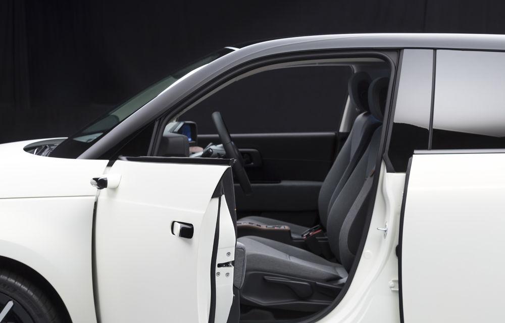Modelul electric de oraș Honda e va avea camere video în loc de oglinzi laterale în echiparea standard - Poza 3