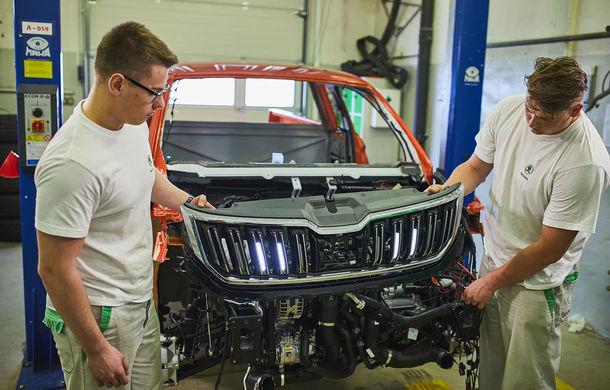 Primele imagini cu Skoda Mountiaq: conceptul pick-up-ului a fost dezvoltat de studenții din Mlada Bolslav având la bază SUV-ul Kodiaq - Poza 1