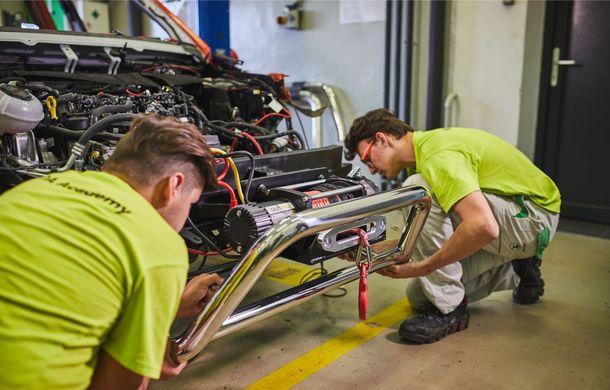 Primele imagini cu Skoda Mountiaq: conceptul pick-up-ului a fost dezvoltat de studenții din Mlada Bolslav având la bază SUV-ul Kodiaq - Poza 5