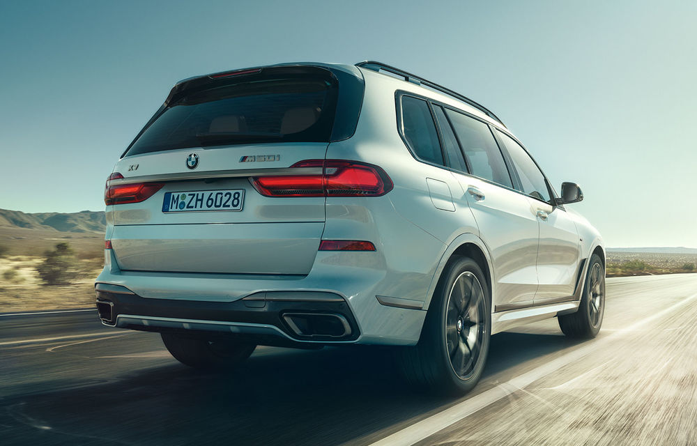 Motorul V8 de 4.4 litri a fost introdus și pe SUV-urile BMW X5 și X7: unitatea pe benzină oferă 530 CP și 750 Nm - Poza 1