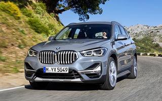 BMW X1 primește o serie de îmbunătățiri: design modificat, tehnologii noi și o versiune plug-in hybrid