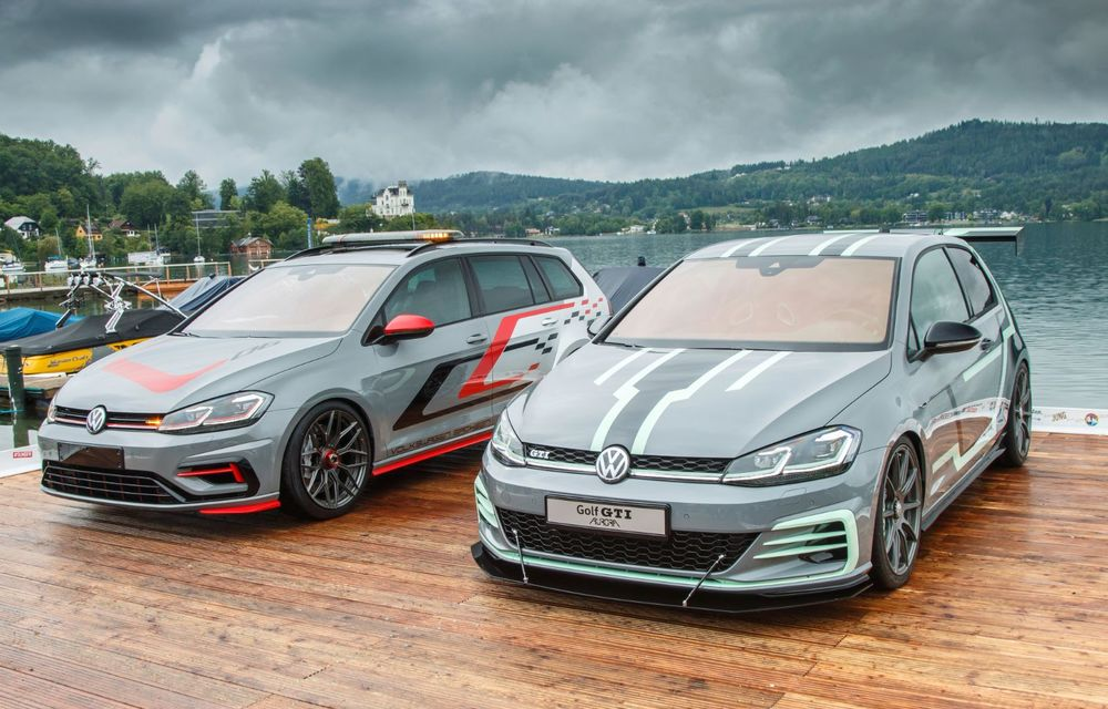 Ucenicii Volkswagen dau examen la Worthersee: un Golf GTI cu 380 CP și un Golf R break cu 400 CP au făcut deliciul celor prezenți în Austria - Poza 3