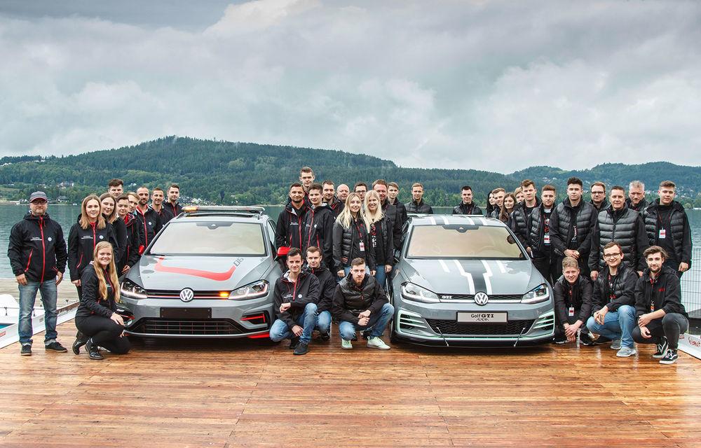 Ucenicii Volkswagen dau examen la Worthersee: un Golf GTI cu 380 CP și un Golf R break cu 400 CP au făcut deliciul celor prezenți în Austria - Poza 1