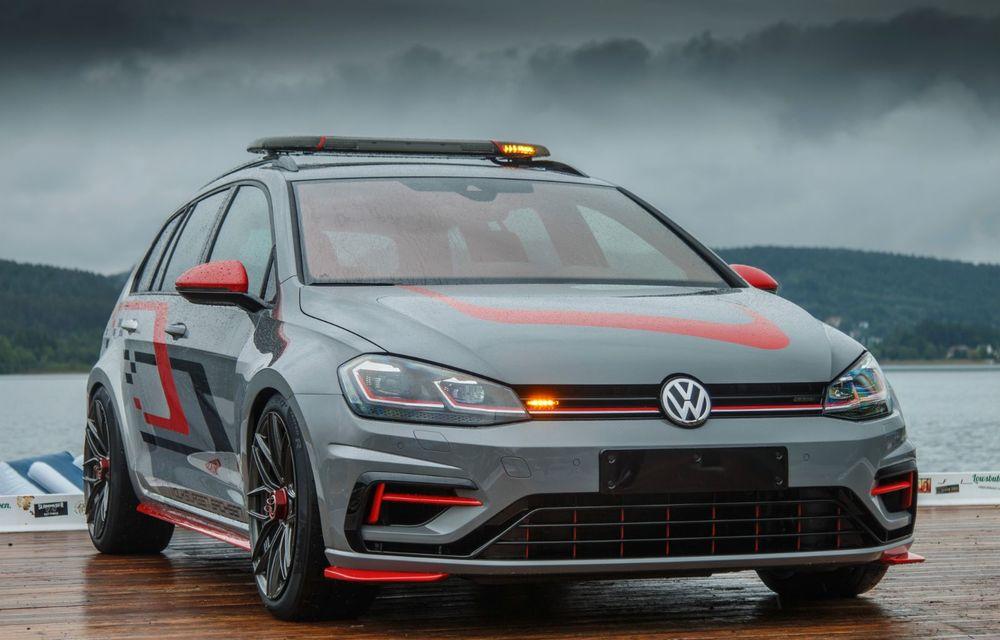 Ucenicii Volkswagen dau examen la Worthersee: un Golf GTI cu 380 CP și un Golf R break cu 400 CP au făcut deliciul celor prezenți în Austria - Poza 5