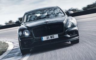 Imagini și informații noi despre noul Bentley Flying Spur: modelul va primi direcție integrală, iar lansarea este programată pentru 11 iunie