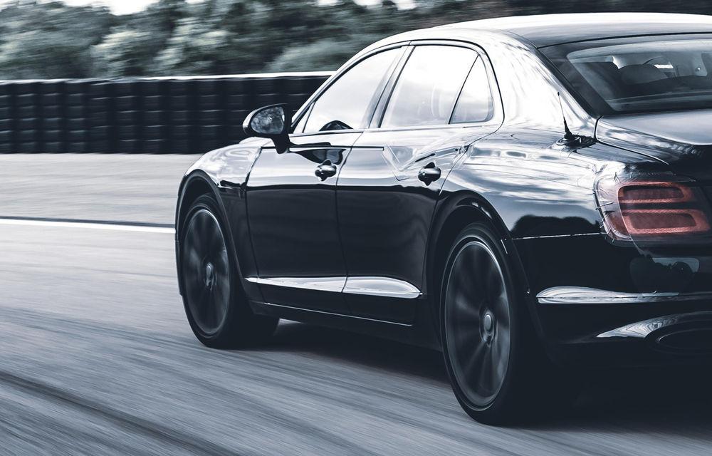 Imagini și informații noi despre noul Bentley Flying Spur: modelul va primi direcție integrală, iar lansarea este programată pentru 11 iunie - Poza 2