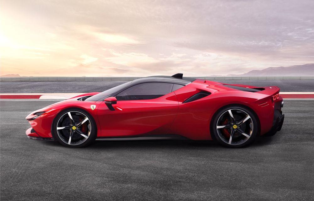 Ferrari SF90 Stradale, cel mai puternic model de serie dezvoltat până acum de constructorul italian: sistem plug-in hybrid de 1.000 CP și autonomie electrică de 25 de kilometri - Poza 3