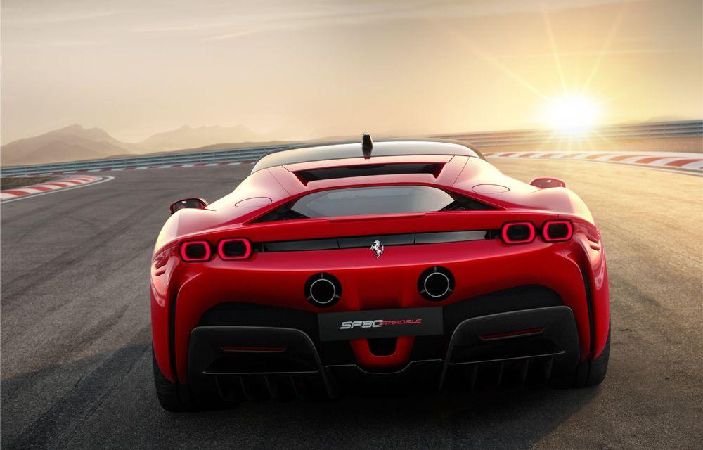 Ferrari SF90 Stradale, cel mai puternic model de serie dezvoltat până acum de constructorul italian: sistem plug-in hybrid de 1.000 CP și autonomie electrică de 25 de kilometri - Poza 5