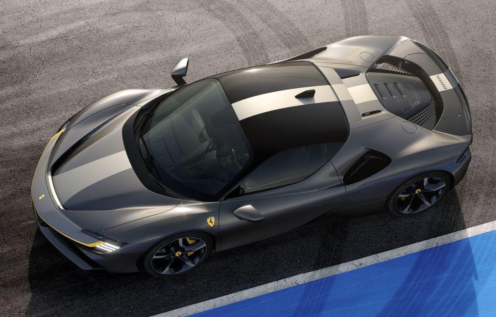 Ferrari SF90 Stradale, cel mai puternic model de serie dezvoltat până acum de constructorul italian: sistem plug-in hybrid de 1.000 CP și autonomie electrică de 25 de kilometri - Poza 6
