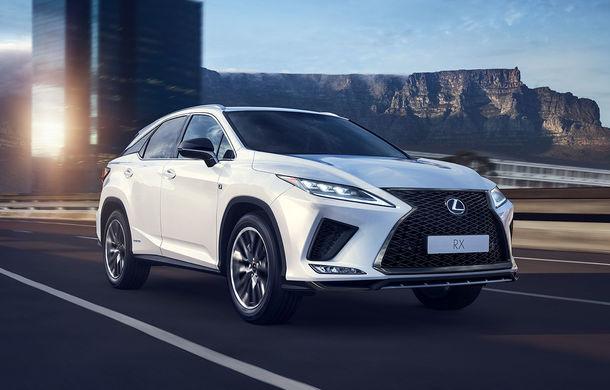 Lexus RX facelift, poze și detalii oficiale: modificări estetice minore și comportament dinamic îmbunătățit - Poza 1