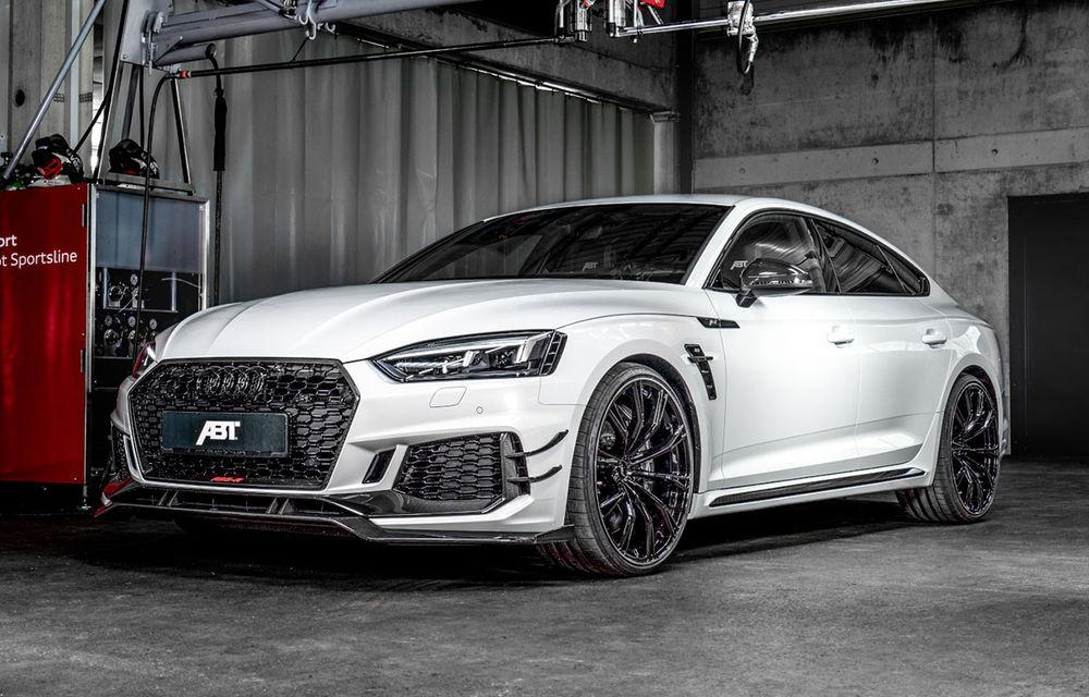Tratament special pentru Audi RS5 Sportback din partea ABT: 530 CP și 3.6 secunde pentru sprintul 0-100 km/h - Poza 1